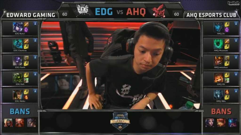 picks bans Edward Gaming vs AHQ e-Sports Club
