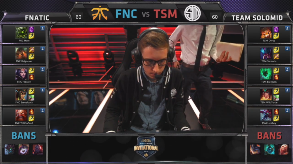 picks bans Fnatic vs Team SoloMid