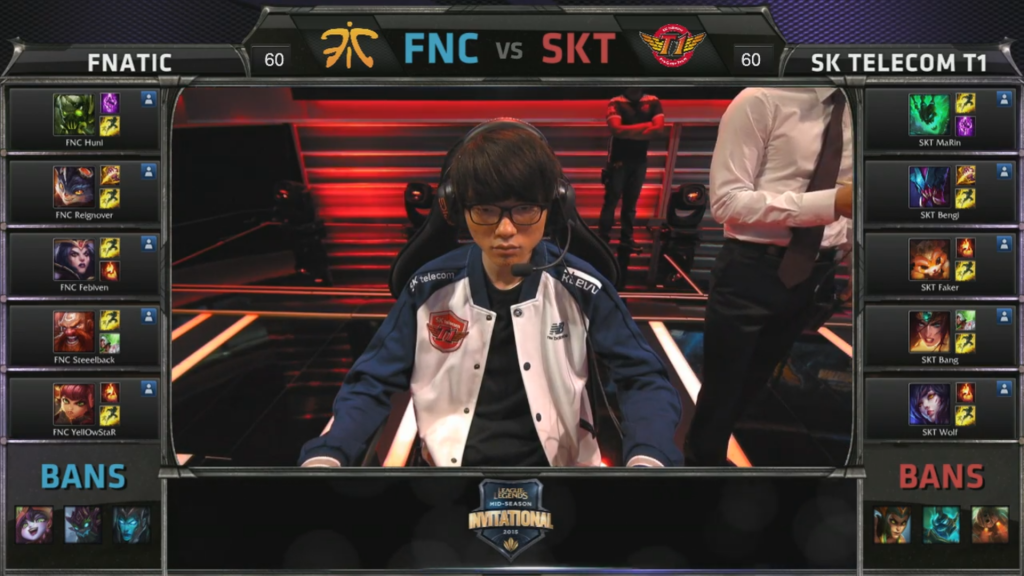 picks bans SK Telecom T1 vs Fnatic Game 2