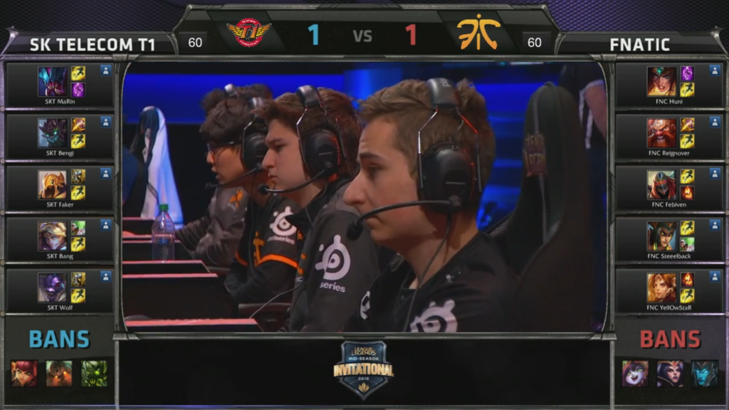 picks bans SK Telecom T1 vs Fnatic Game 3