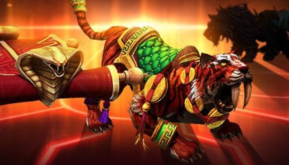 Heroes of The Storm, Montures, Tapis, Tigre
