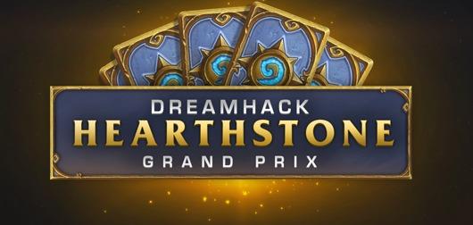 Affiche officiel de la Dreamhack Winter Hearthstone 2015