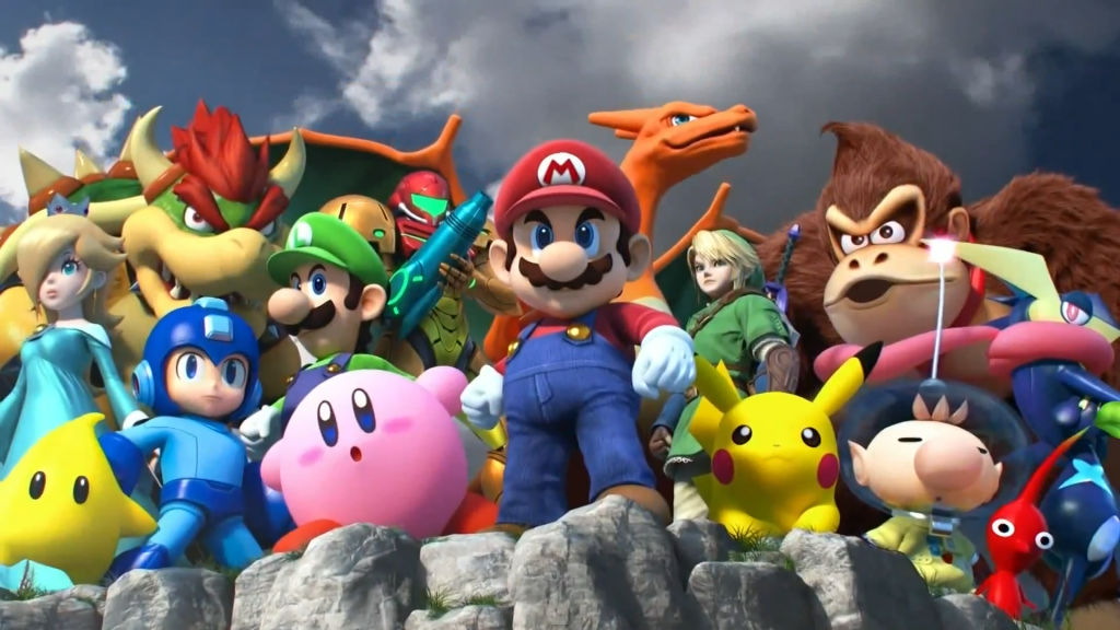 super_smash_bros__characters_poster__high_quality__by_markproductions-d7yfny8