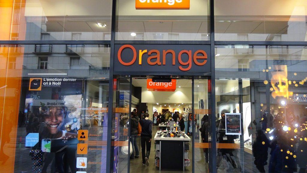 La boutique Orange Rue Nationale à Tours