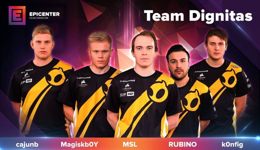Team Dignitas CS:GO DreamHack Winter 2016