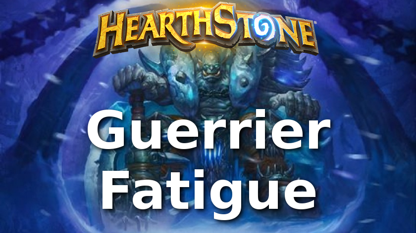 hearthstone guerrier quete knights of the frozen throne chevaliers du trone de glace
