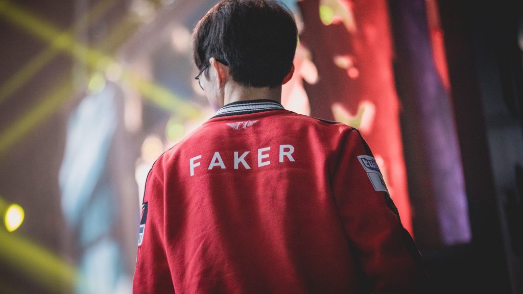 Faker SKT Worlds 2017