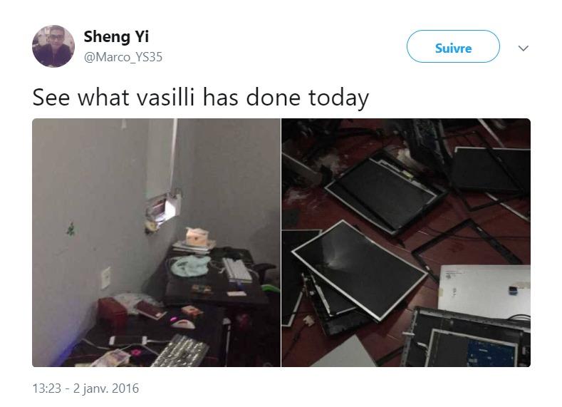 Vasilii violence