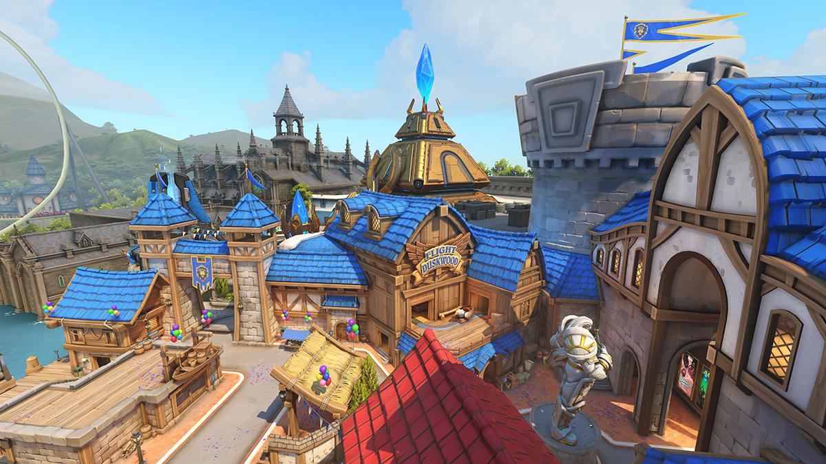La nouvelle map Blizzard World d'Overwatch