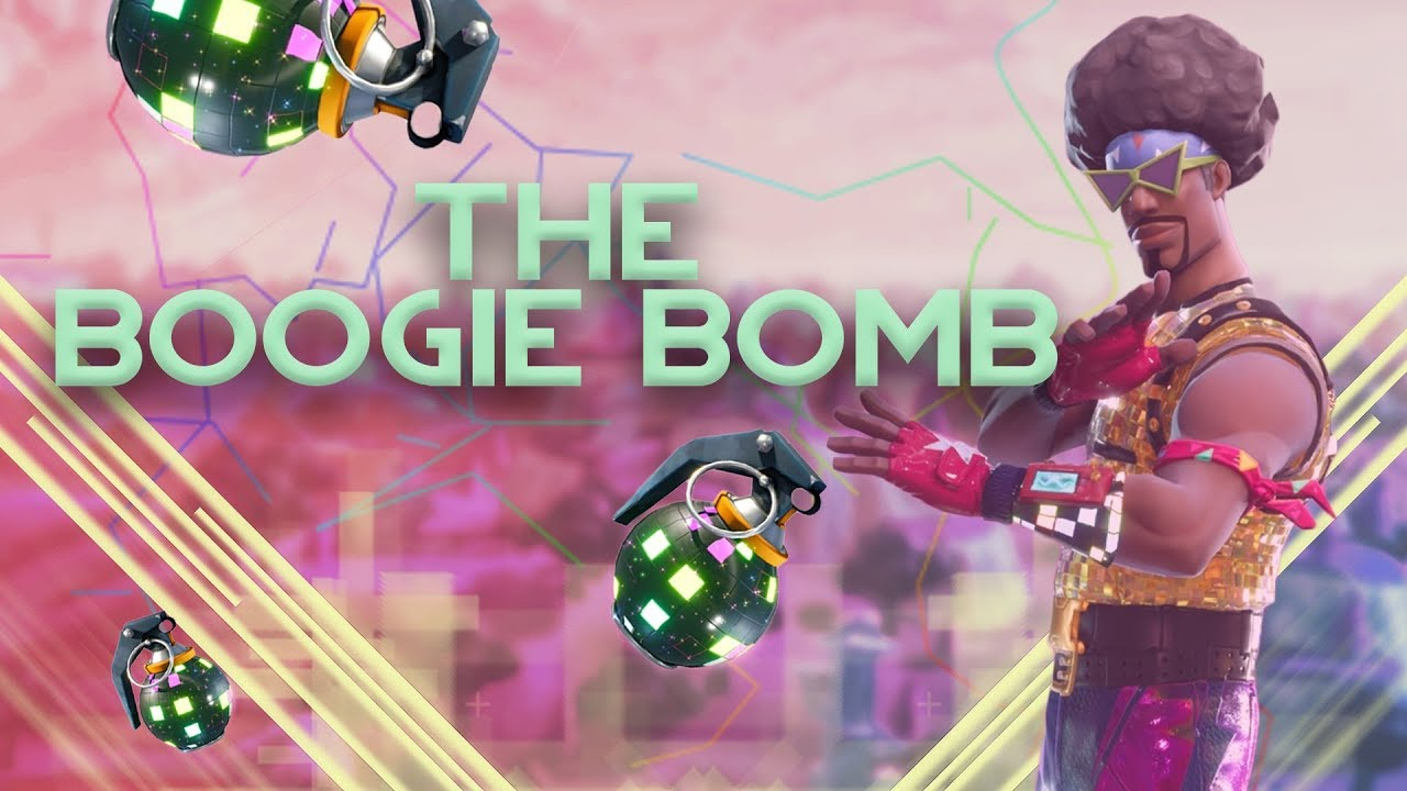 Fortnite the Boogie bomb