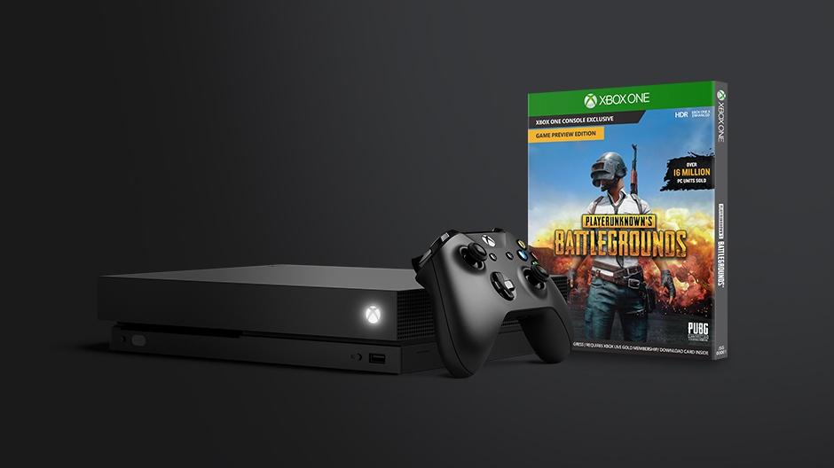 PUBG Xbox One X