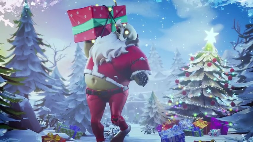 Fortnite Survive the holidays Patch 1.11