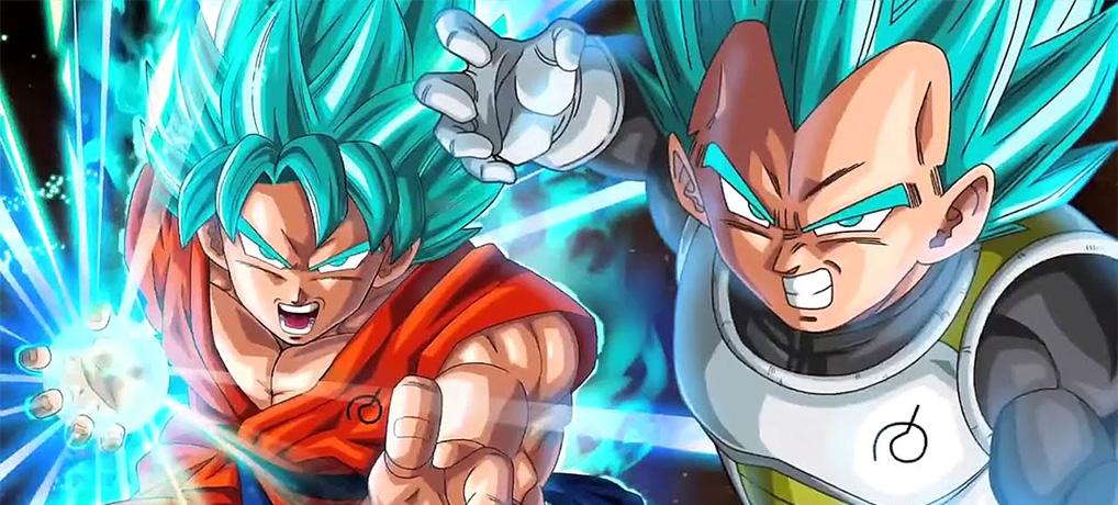 DBZ Végéta SSB Son Goku SSB
