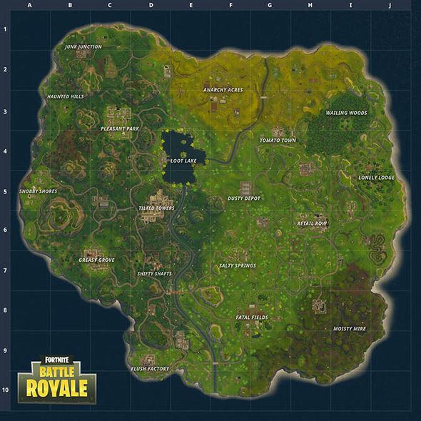 map de fortnite rework