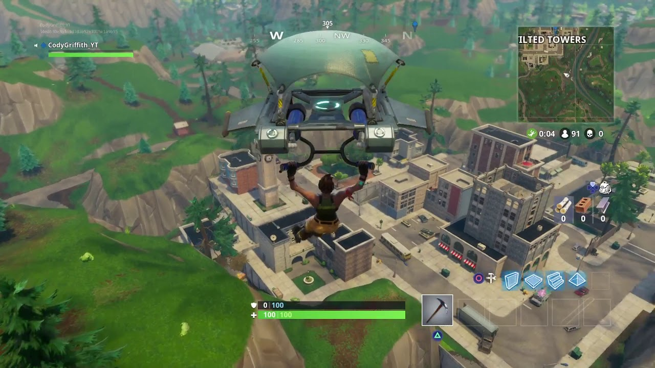 Fortnite tilted towers drop