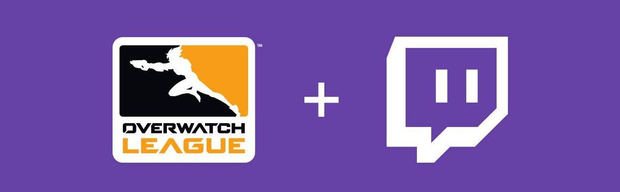 L'Overwatch League et Twitch annonce un partenariat de diffusion pour 2 saisons