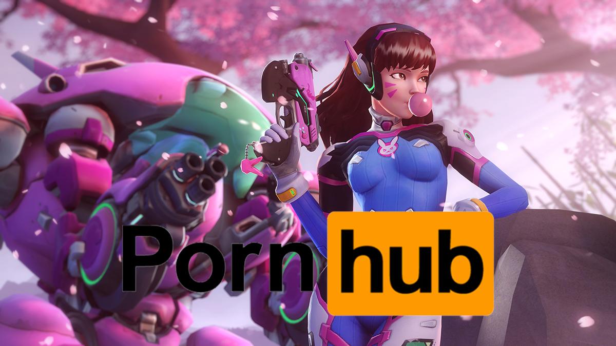 Overwatch et D.Va sont en tête des recherches sur Pornhub