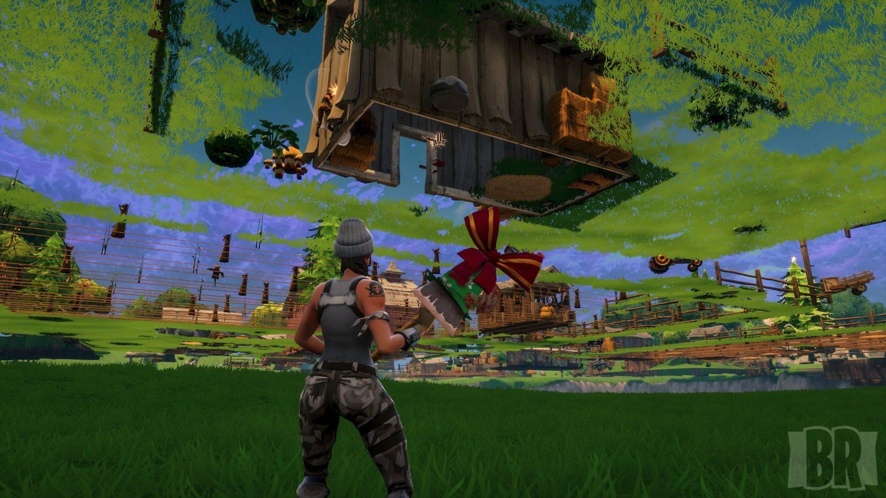 fortnite under map bug