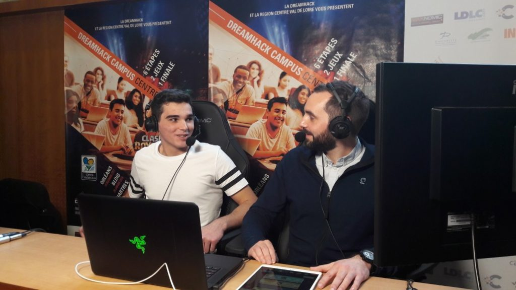 interview clash royale dreamhack campus à blois