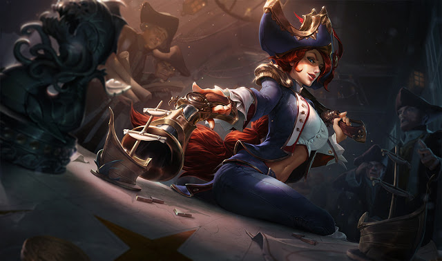 miss fortune PBE Patch 8.2 miss fortune waterloo