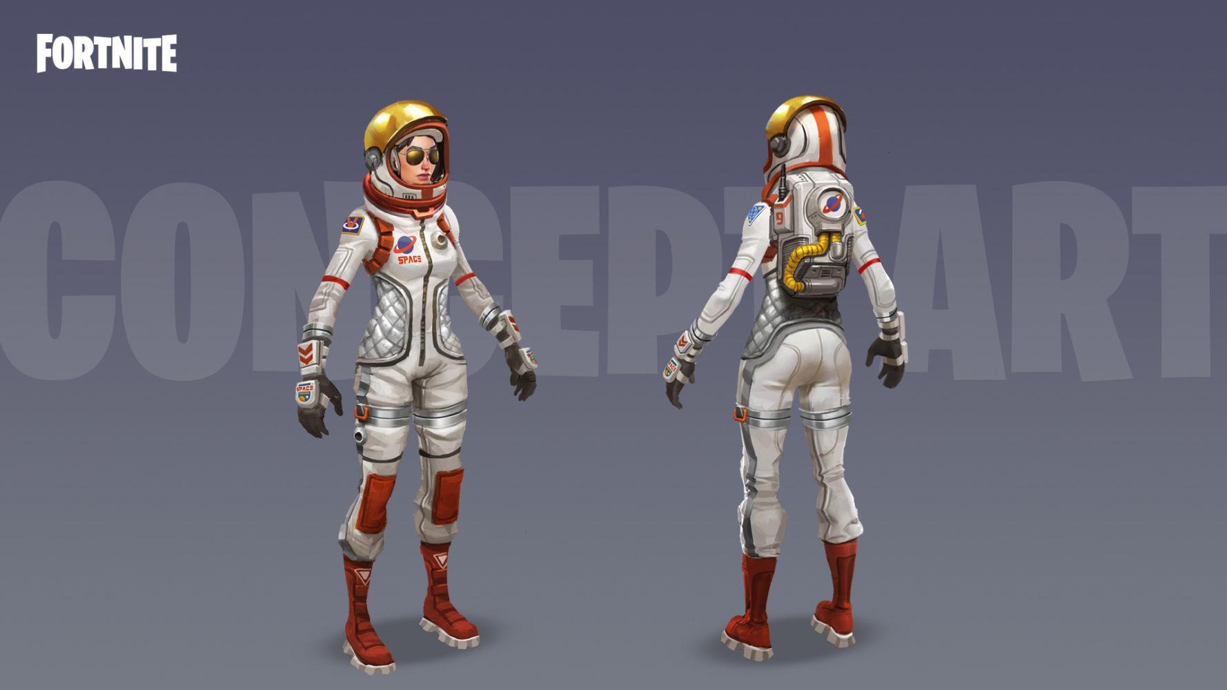 Fortnite astronaute