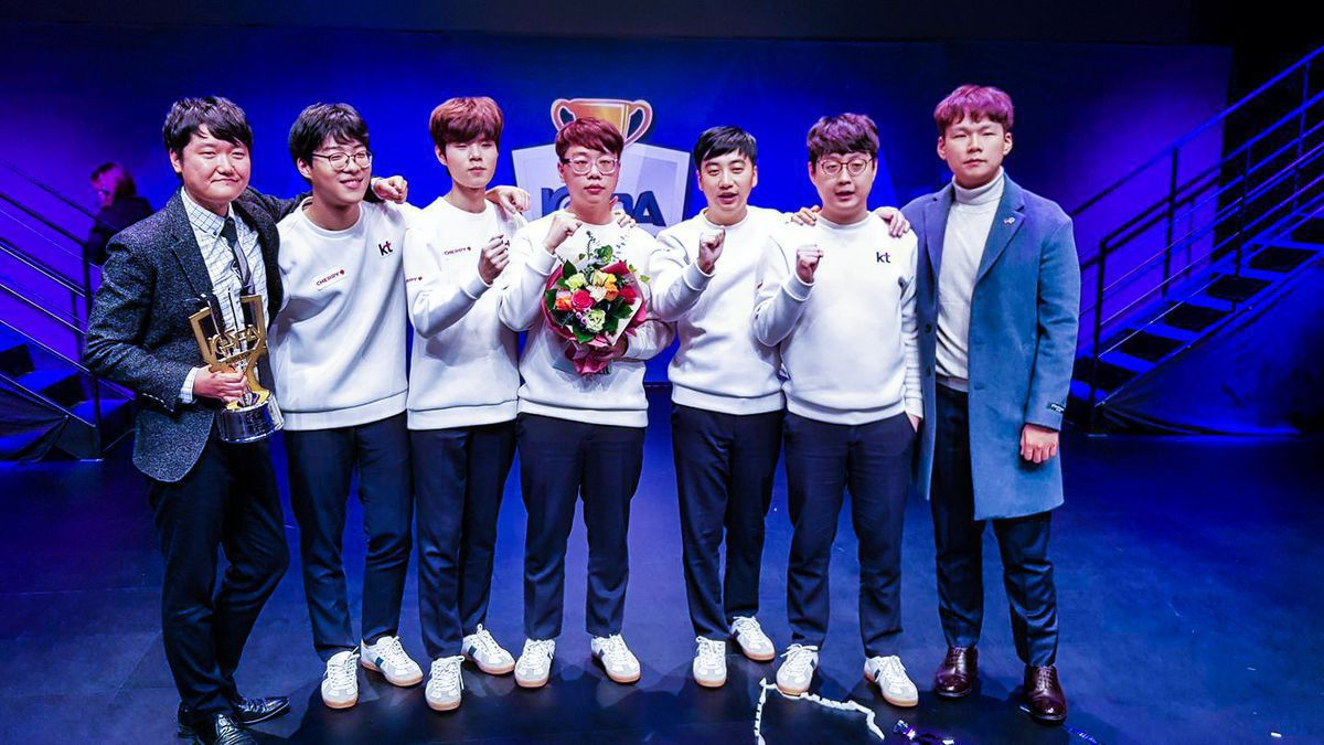 KT Rolsters LCK