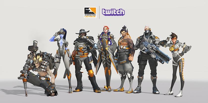 Gagnez des crédits Overwatch League avec Twitch