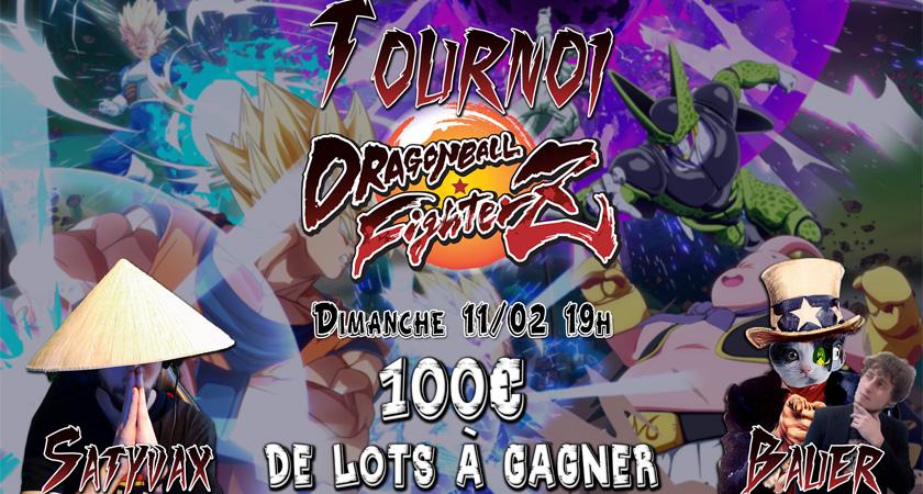 tournoi dragon ballZ image à la une