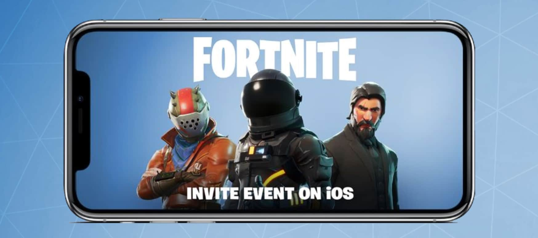 Fortnite sur mobile