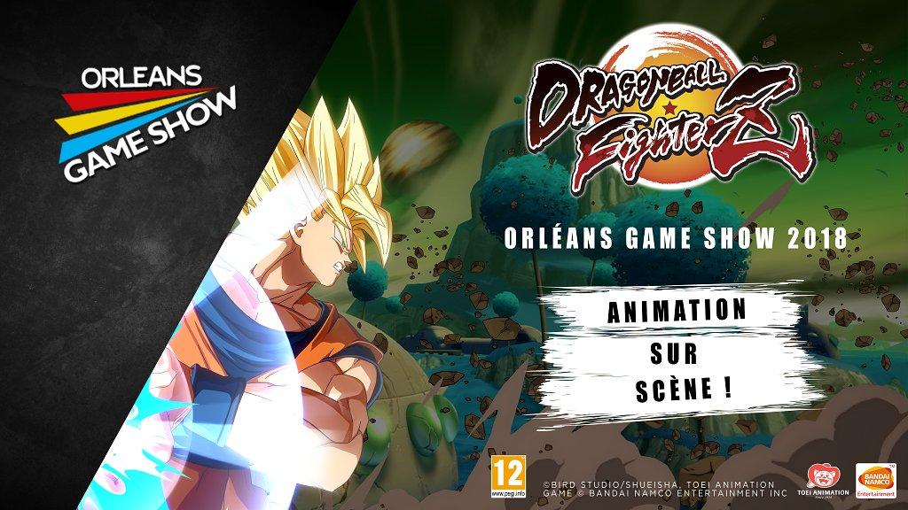 Orleans Games show 2018 DBZ