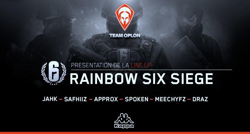 Team Oplon - Rainbow Six Siège