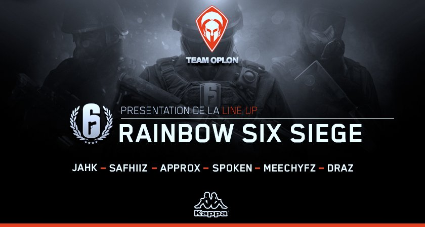Team Oplon - Rainbow Six Siège