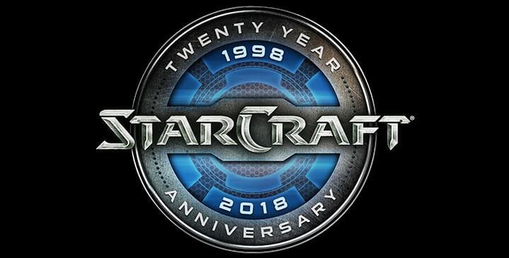anniversaire de starcraft