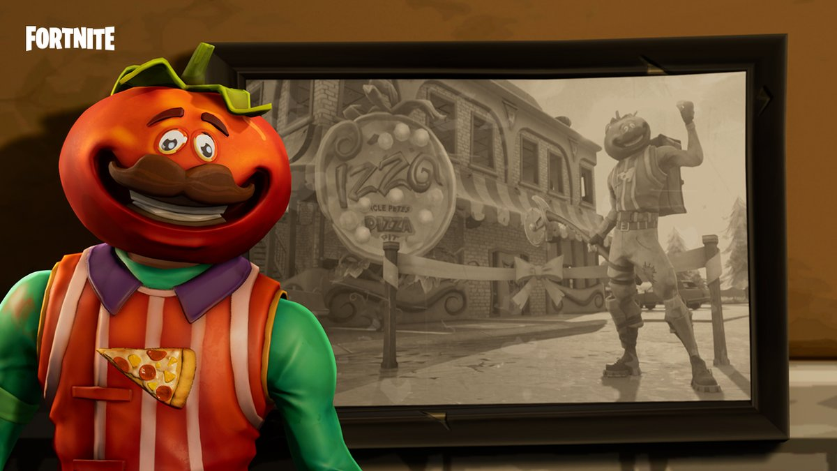Monsieur tomate Fortnite