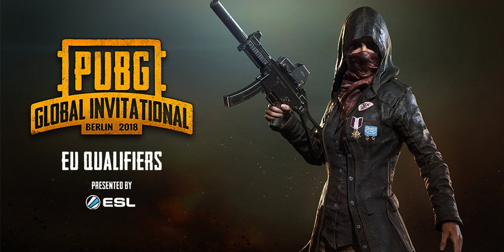 PUBG Global Invitational eu qualifier