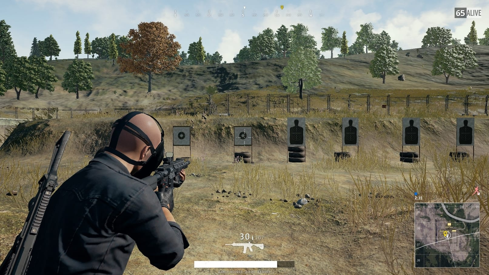 Shooting range PUBG