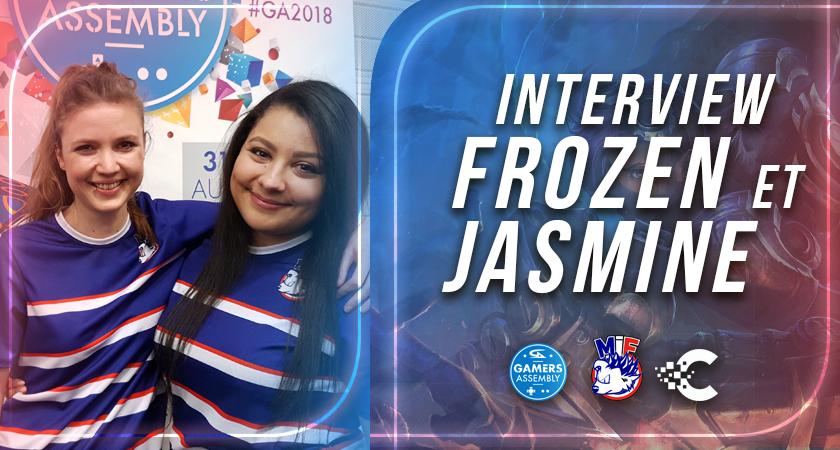 interview frozen et jasmine mif