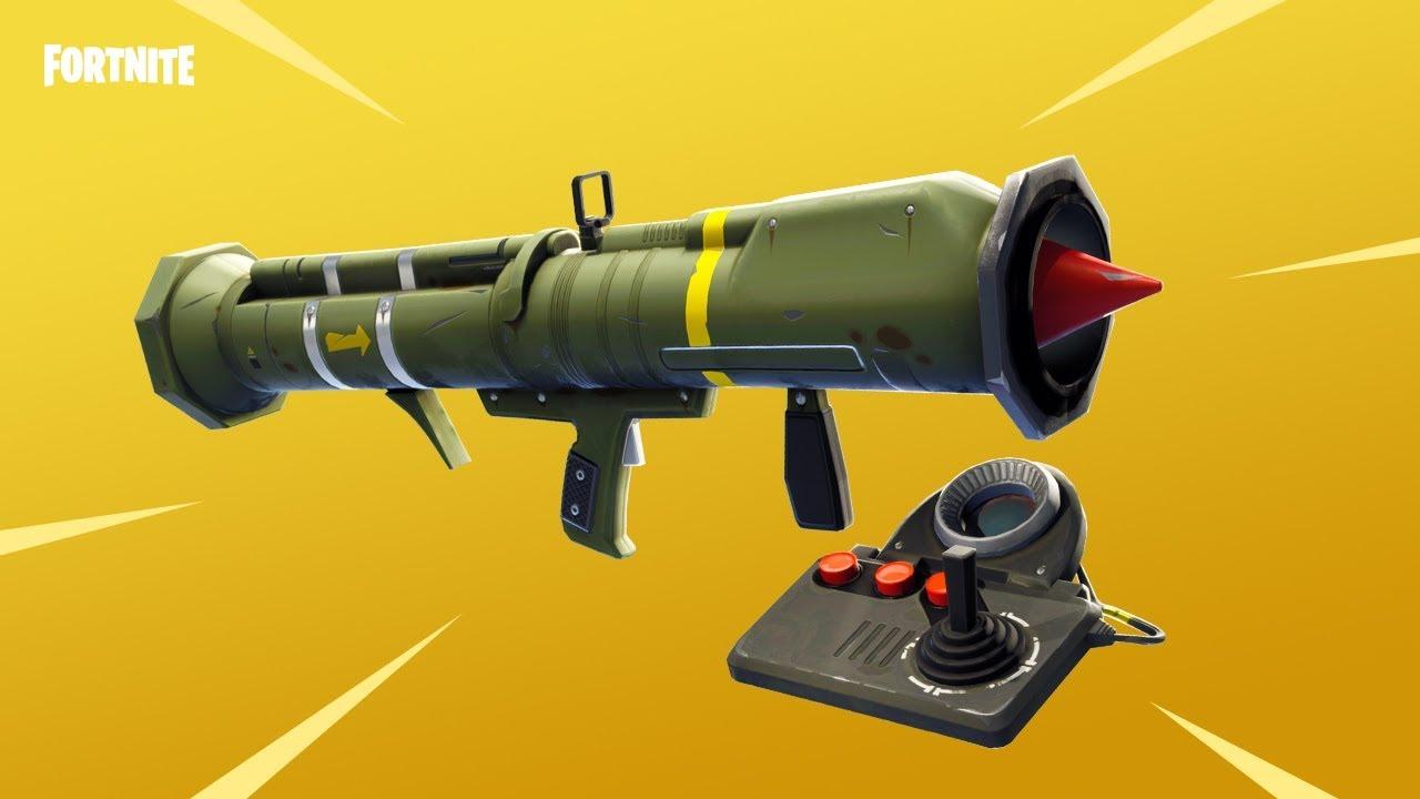 missile guidé Fortnite