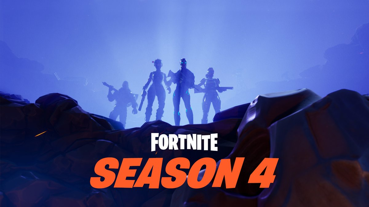 saison 4 Fortnite affiche