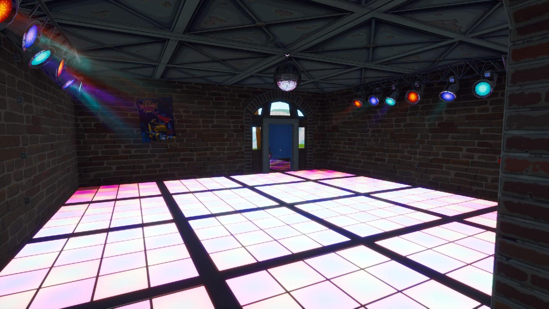 salles de disco sur Fortnite