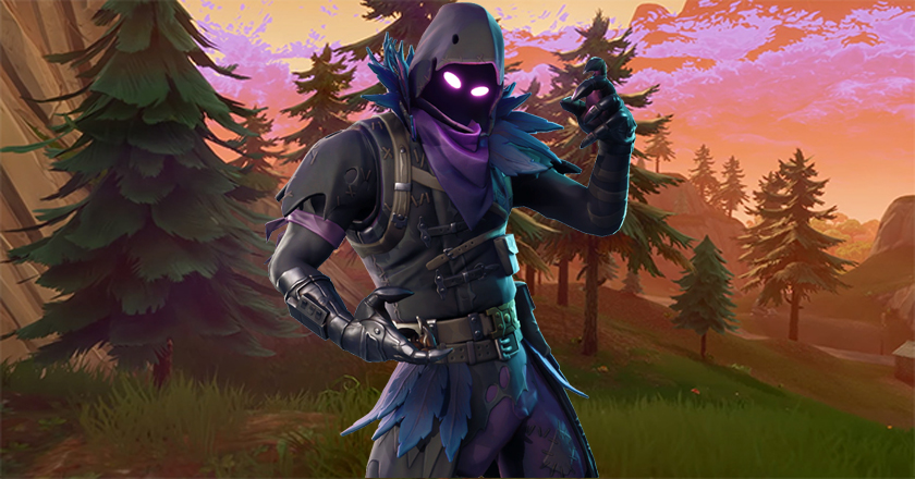 skin raven fortnite image