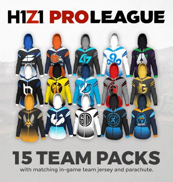 skins H1Z1 Pro League