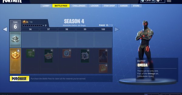 Battle Pass saison 4