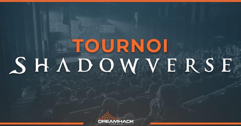 tournoi Shadowverse de la dreamhack tours 2018