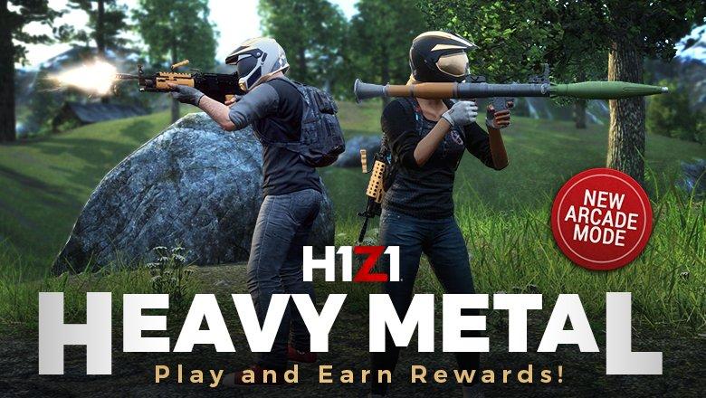 mode Heavy metal H1Z1