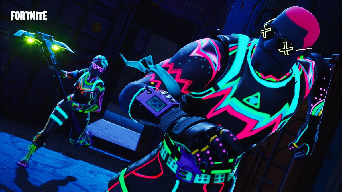 skins neons Fortnite