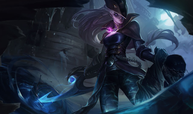 splash art dark waters diana