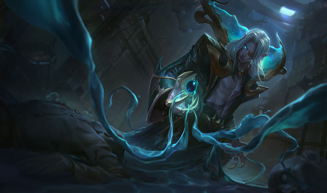 splash art dark waters vladimir