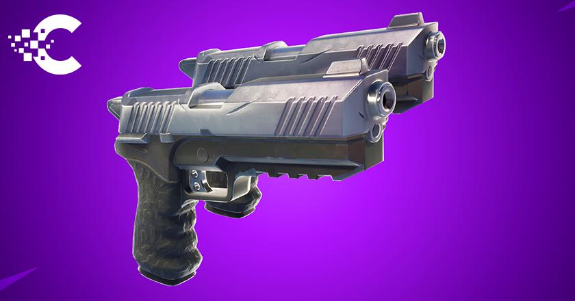 nouvelle arme patch 4.5 pistolet double