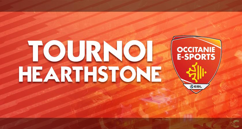 Tourno hearthstone occitanie esports